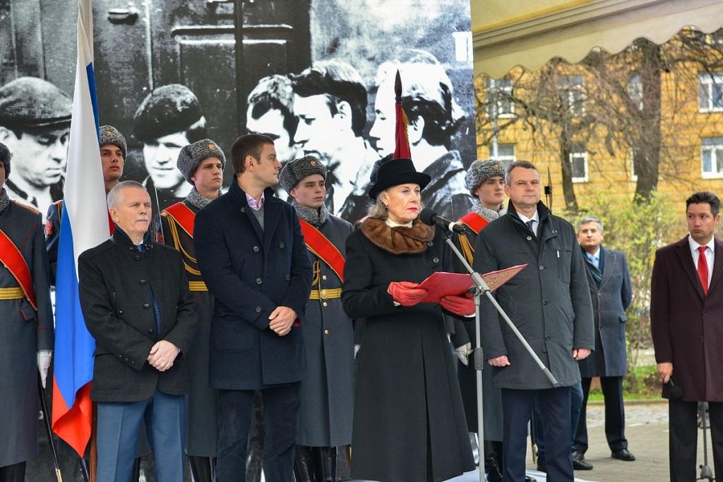 Выступление директора Фонда имени Петра Семененко Ларисы Семененко